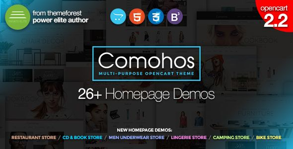 OpenCart 2.2 Theme - Multi-purpose OpenCart Store