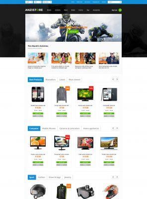 Responisve Opencart Grocery Store - AnziStore