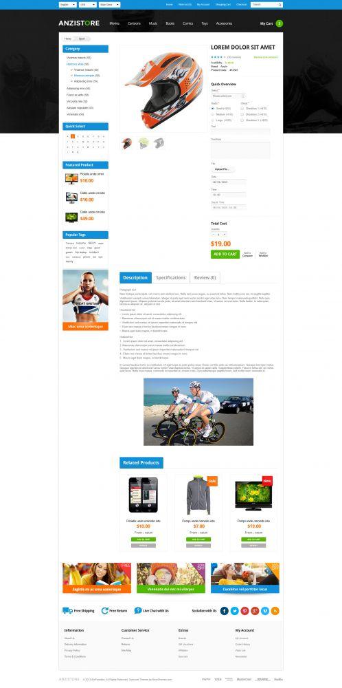 Bossthemes AnziStore - Product