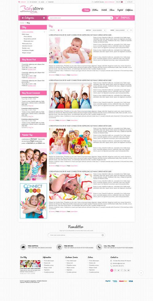 Bossthemes BabyShop - Blog