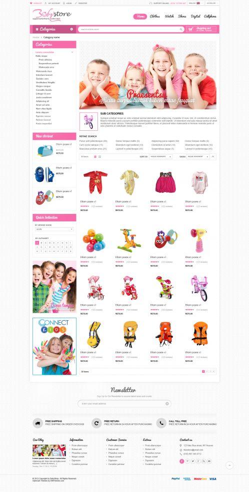 Bossthemes BabyShop - Category Grid