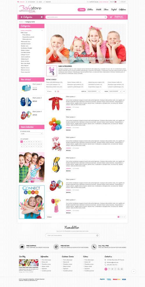 Bossthemes BabyShop - Category List