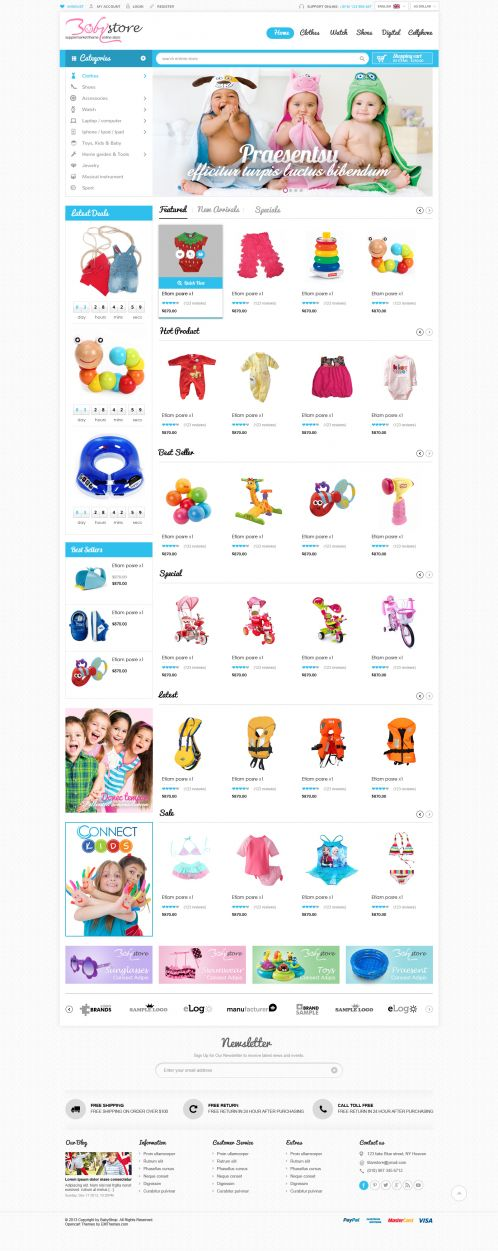 Bossthemes BabyShop - Home 2