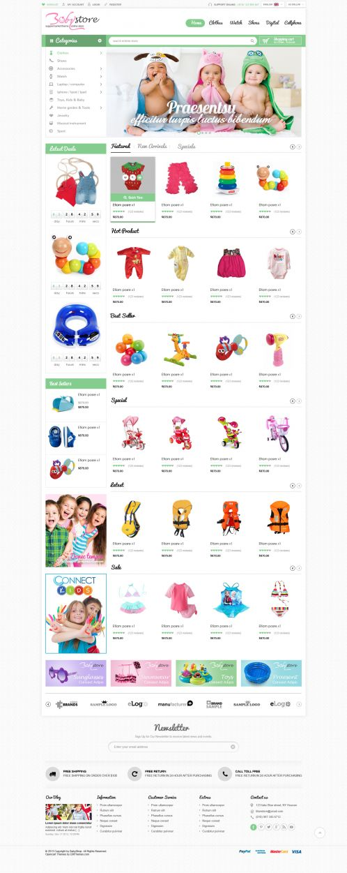 Bossthemes BabyShop - Home 3