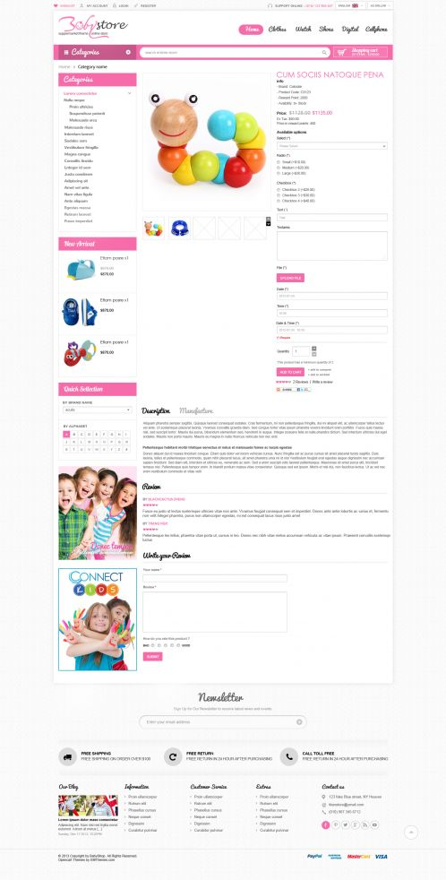 Bossthemes BabyShop - Product
