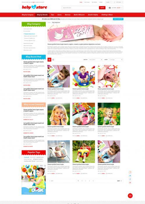 BossThemes BabyStore - Blog