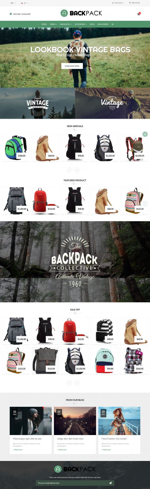 Bossthemes BackPack - Home