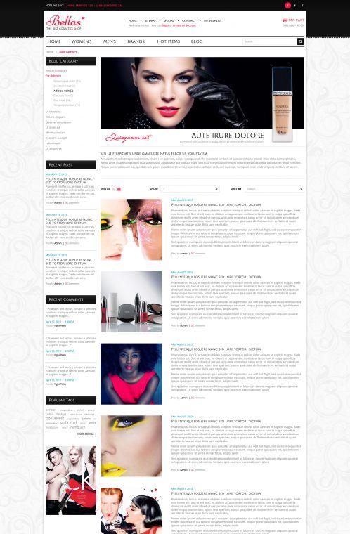 Bossthemes Bella - Blog
