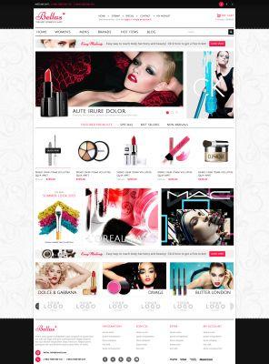 Cosmetics Responsive OpenCart Theme - Bella