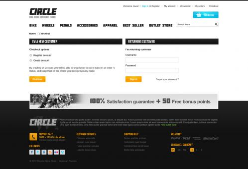 BossThemes BikeStore - OpenCart Bike Store Theme - Checkout