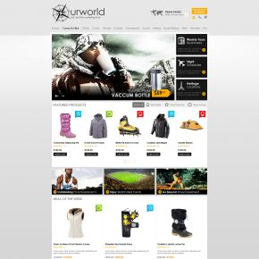 BossThemes OpenCart Camping Equipment Theme