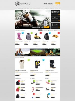 OpenCart Travel Theme - CampStore