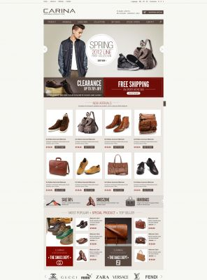 Fashion Responsive OpenCart Theme - Carina