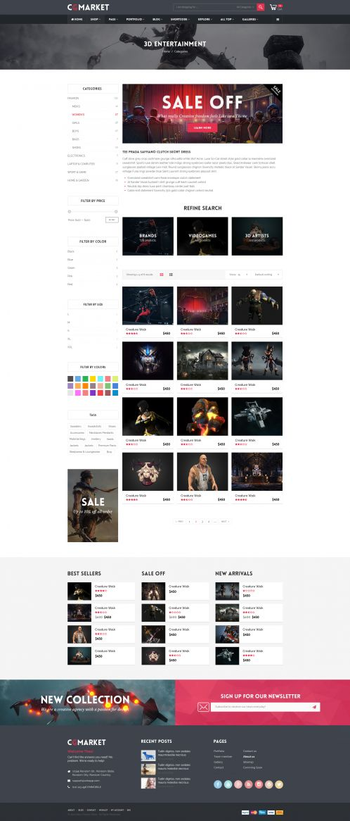 Bossthemes CGMarket - Category Grid