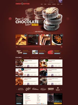 OpenCart Chocolate Theme