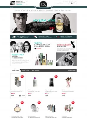 OpenCart Cosmetic Theme