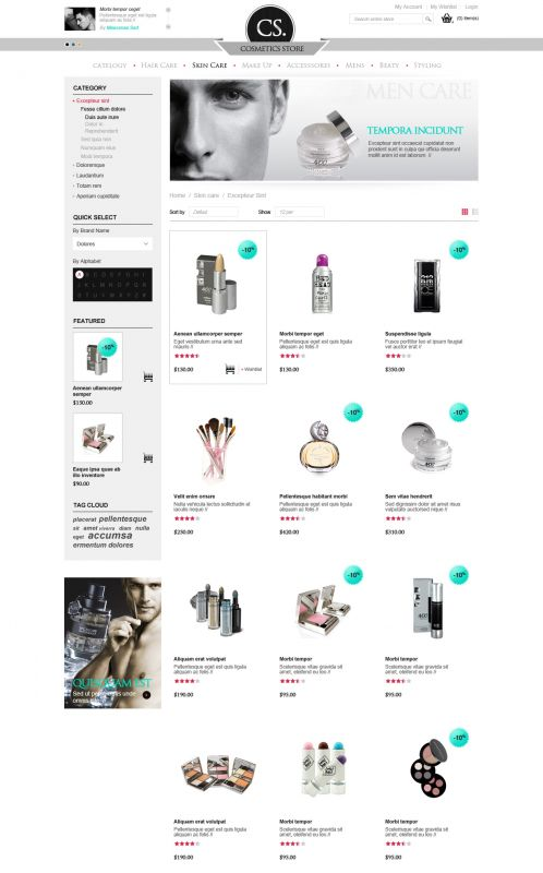 BossThemes Cosmetic - OpenCart Cosmetic Theme - Category Grid