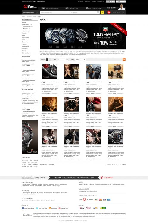 Bossthemes EBuy - Blog