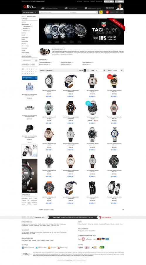 Bossthemes EBuy - Category Grid