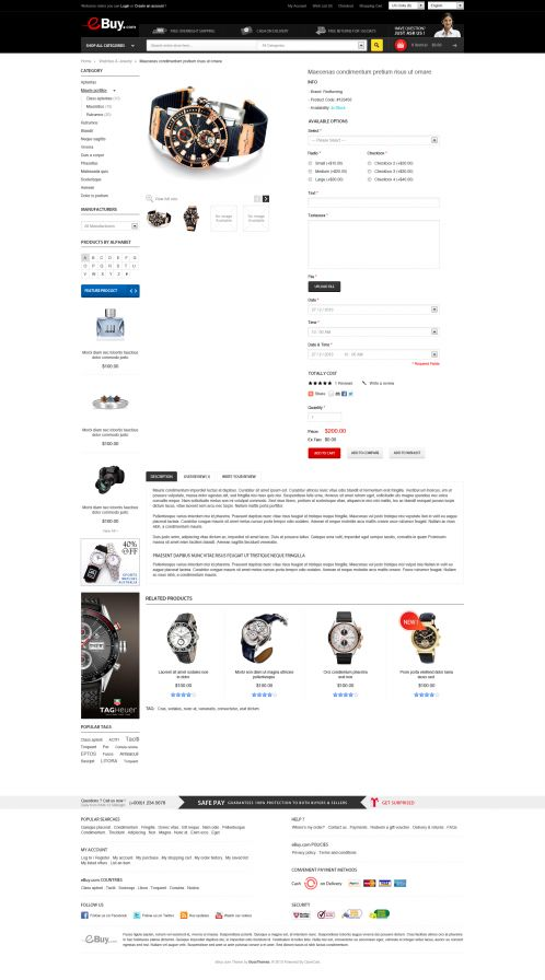 Bossthemes EBuy - Product