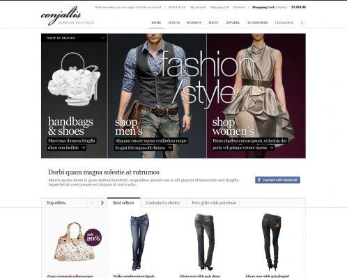 Fashion OpenCart Theme | BossThemes