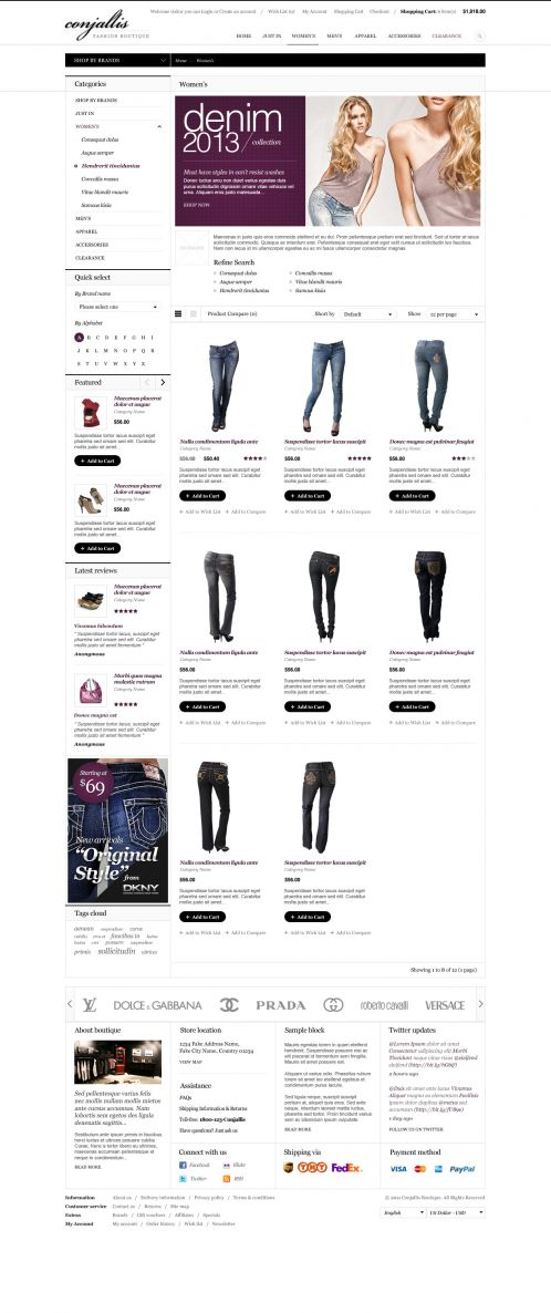 BossThemes Fashion OpenCart Theme - Category Grid