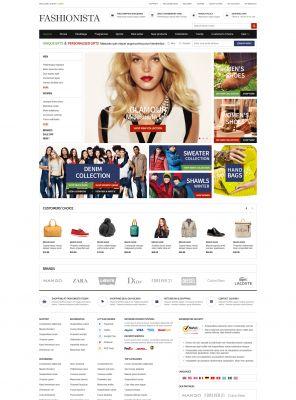 Responsive OpenCart Theme - Fashionista