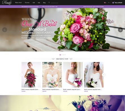 Responisve Opencart Wedding Shop- Floralsi