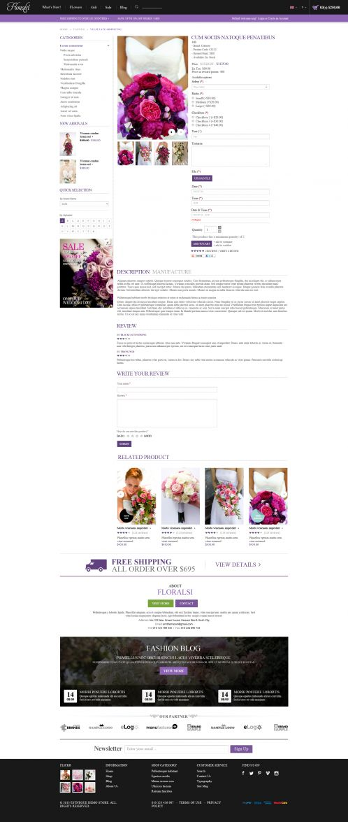 Bossthemes Floralsi - Product