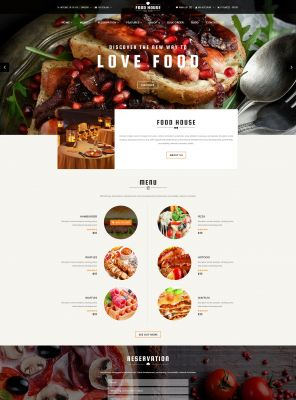 Restaurant, Coffee house, Bar & Fast food Responsive OpenCart Theme