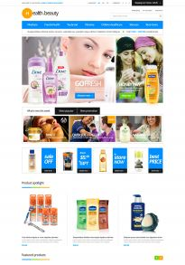 Boss Healthy & Beauty Responsive OpenCart Theme