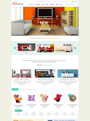 Decor OpenCart Theme - HomeDecoration