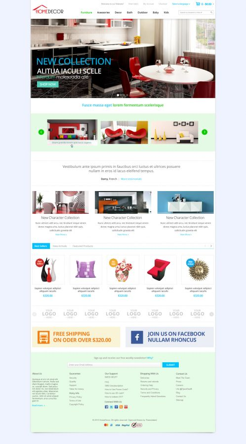Bossthemes HomeDecoration - Home 2