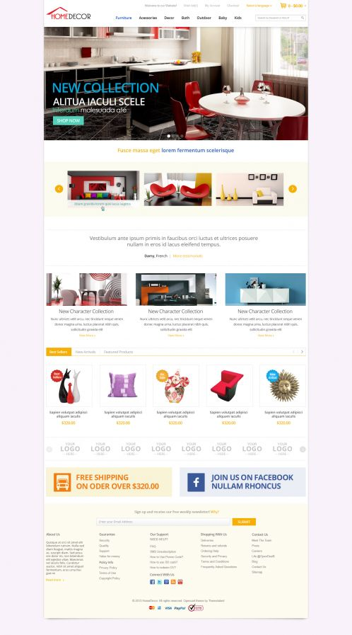 Bossthemes HomeDecoration - Home 5