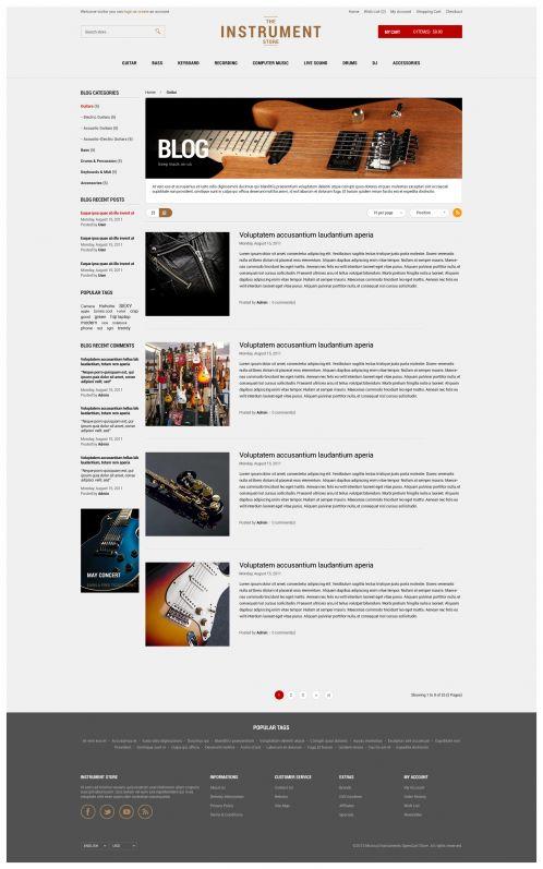 Bossthemes Instrument - Blog Details