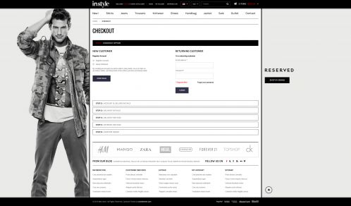 Bossthemes Instyle - Checkout