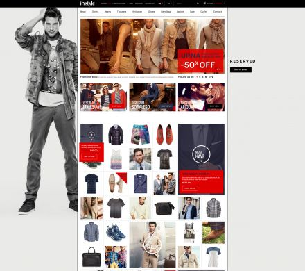 Men Store OpenCart Theme - Instyle