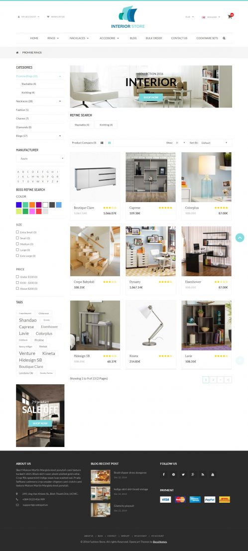 Bossthemes Interior - Category Grid