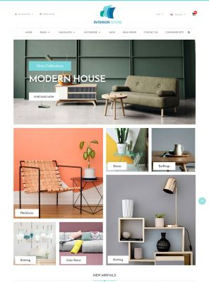 Home & Furniture - Interior Responsive Opencart Theme