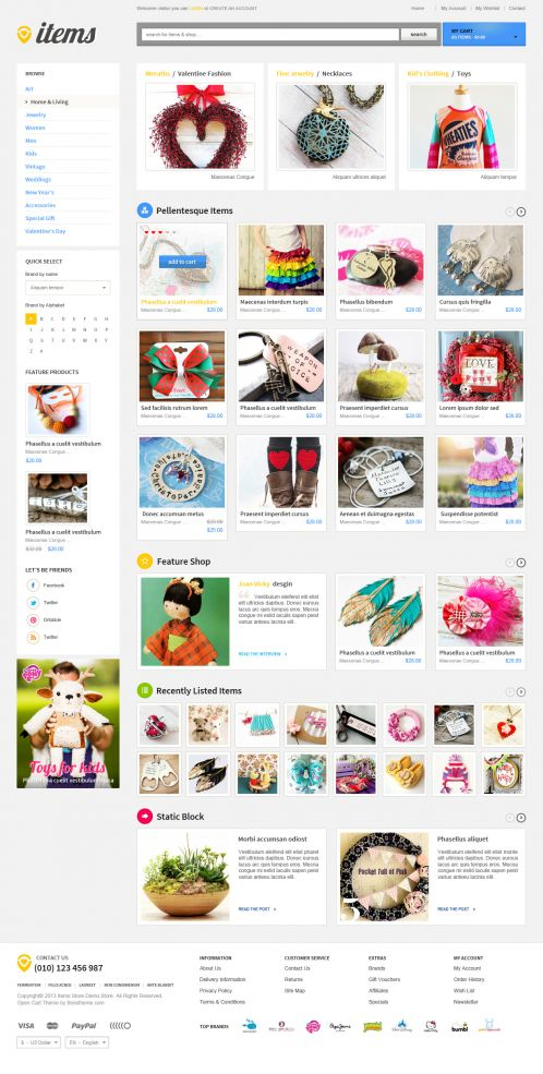Bossthemes ItemStore - Home 2