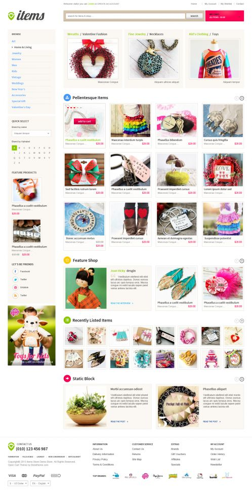 Bossthemes ItemStore - Home 3