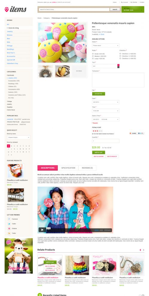 Bossthemes ItemStore - Product