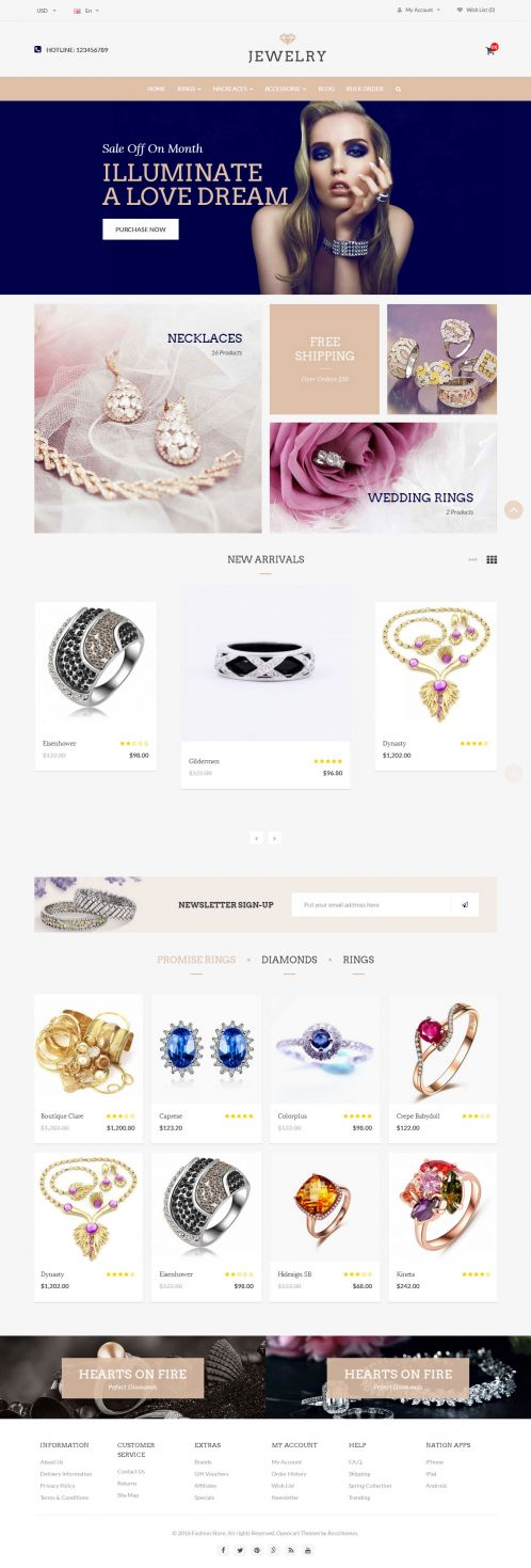 Bossthemes Jewelry - Home