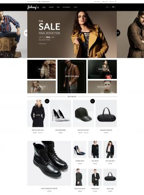 Johnny - Fashion Responsive OpenCart Theme