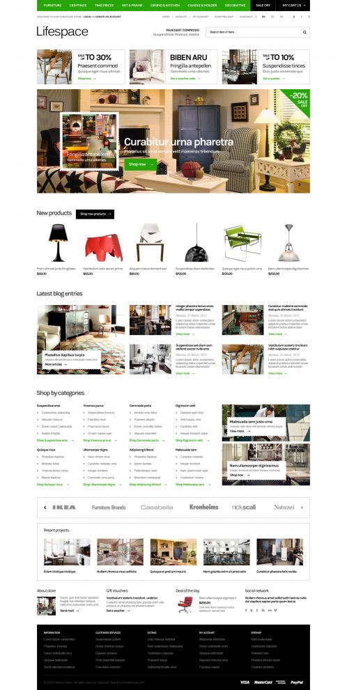 Bossthemes Lifespace - Home Green
