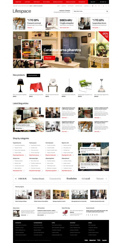 Bossthemes Lifespace - Home Red