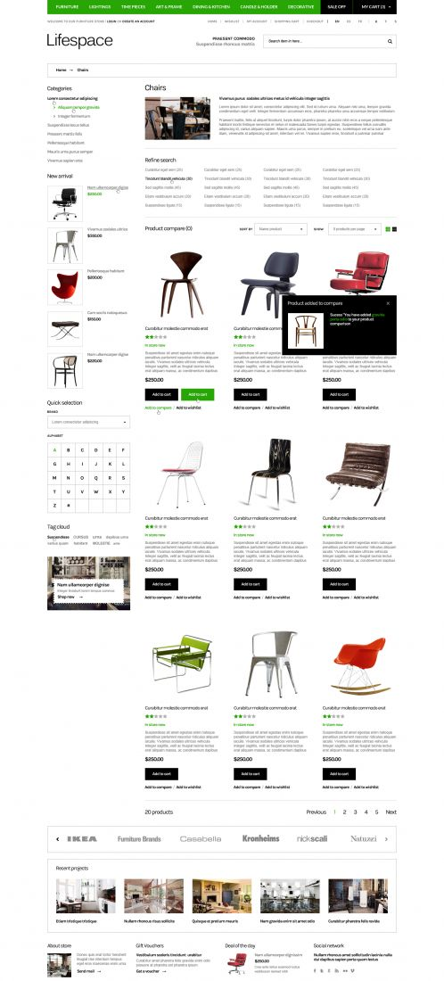 Bossthemes Lifespace - Category Grid