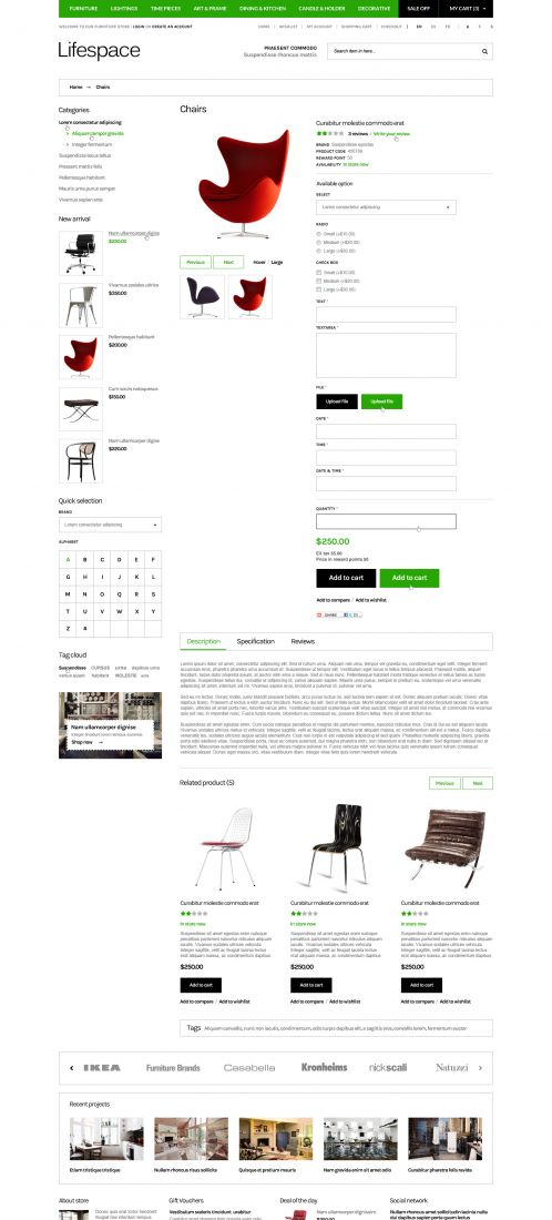 Bossthemes Lifespace - Product Details