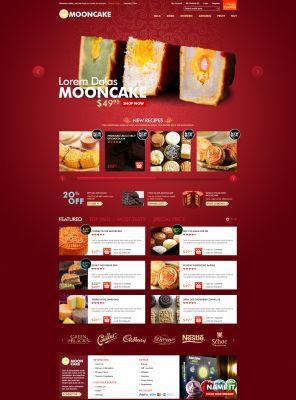 Mooncake OpenCart Theme