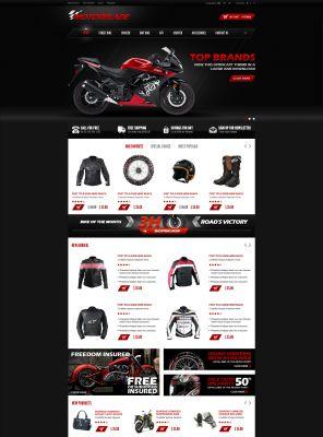 OpenCart Auto Parts Theme - Motorblade